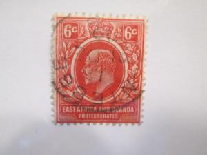 East Africa & Uganda Protectorates #33 used