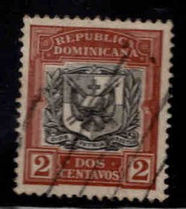 Dominican Republic Scott 128 Used coat of arms stamp