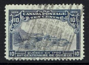Canada SG# 193, Used, Tiny Top Pinhole -  Lot 120516