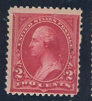 249 MINT F-VF OG NH Cat$450