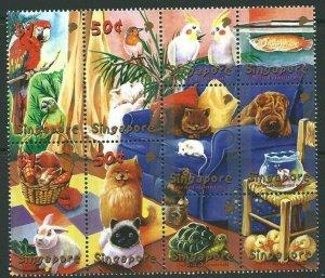 SINGAPORE SG1103a 2001 SINGPEX 01 MNH