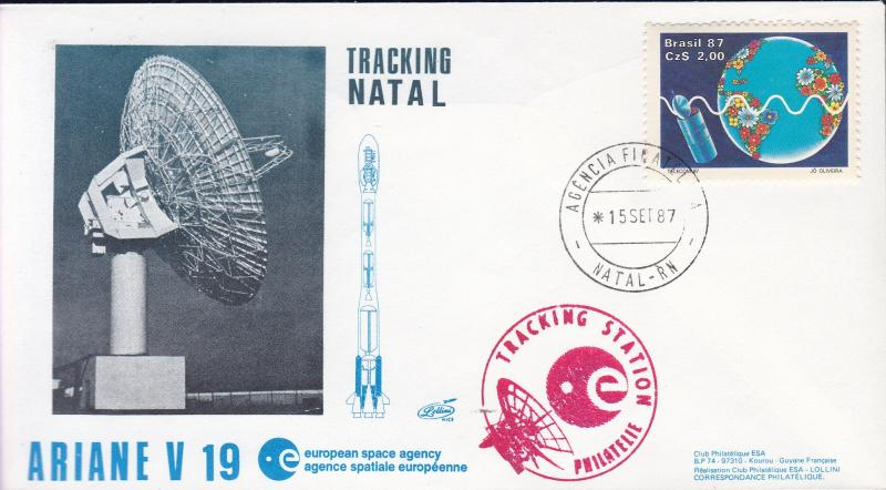 French Aerospace Tracking Station Ariane V-19. 1987 Lollini Nr.326