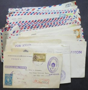 EDW1949SELL : VENEZUELA Collection of 122 covers all to USA.