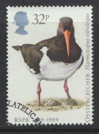Great Britain  SG 1421 SC# 1241 Used / FU with First Day Cancel - RSPB Birds