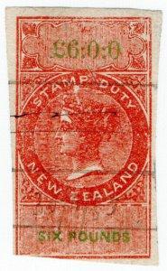 (I.B) New Zealand Revenue : Stamp Duty £6