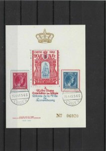 luxembourg 1945 stamps sheet   ref 11317
