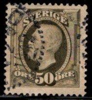 Sweden -  #64 King Oscar II  - Used