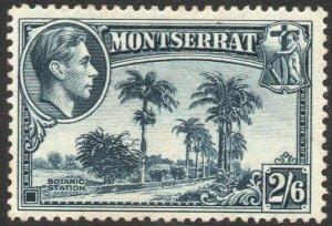 MONTSERRAT-1938-48 2/6 Slate-Blue Sg 109 AVERAGE MOUNTED MINT V44840