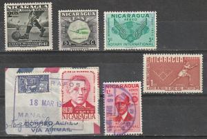 Nicaragua Mint OGLH & Used