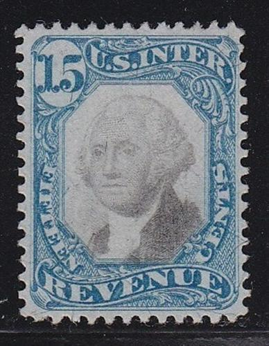 R110 VF revenue stamp neat light cancel nice color scv $ 75 ! see pic !