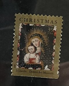 US 2006 Holiday Issue Madonna & Child with Bird by Ignacia Chacon 4100