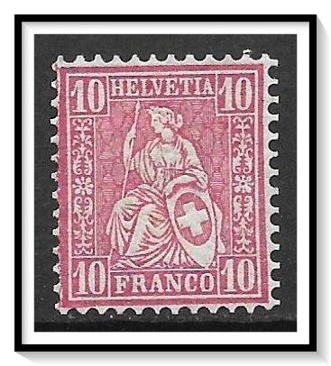 Switzerland #62 Helvetia NG