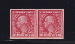 459 Linepair VF-XF scarce original gum never hinged with nice color ! see pic !