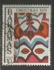 BAHAMAS 459 VFU CHRISTMAS Y182-2
