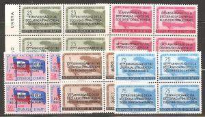 Haiti SC 442-3,C136-8 Mint, Never Hinged