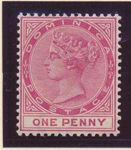 Dominica Stamp Scott #19, Mint Hinged - Free U.S. Shipping, Free Worldwide Sh...