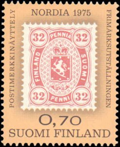 1975 Finland #571, Complete Set, Never Hinged
