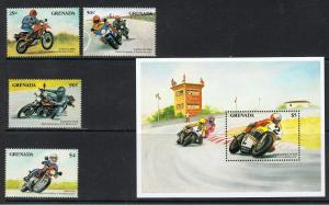 GRENADA 1985 MOTORCYCLE CENTENARY