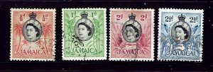 Jamaica 159-62 Used 1955 Issues