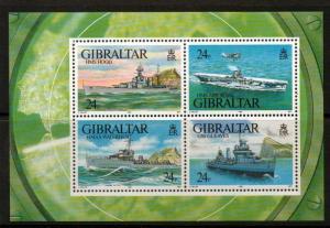GIBRALTAR SGMS694 1993 SECOND WORLD WAR  MNH