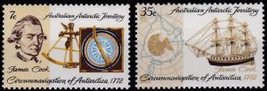 Australian Antarctic Territory L21-L22 MNH (1972)