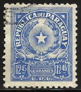 Paraguay 1962 Scott# 653 Used