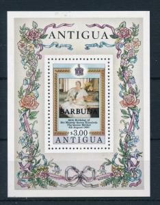 [21993] Antigua & Barbuda 1980 Royal Queens Mother Souvenir Sheet MNH