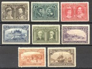 CANADA #96-103 Mint - 1908 Tercentenary Set