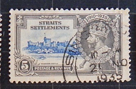Great Britain, King George V, Straits Sets, 1910-1935, SC #213-6