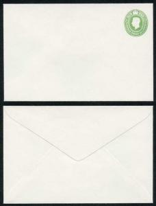 ES68 KGVI 1 1/2d Green Stamped to Order Envelope Approx 107mm x 165mm Mint