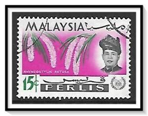 Perlis #45 Sultan & Orchids Used
