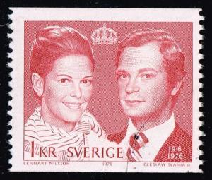 Sweden #1163 Royal Wedding; Used (0.25)