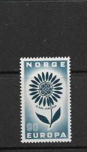 NORWAY - EUROPA 1964 - SCOTT 458