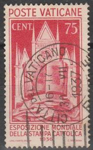 Vatican City #51 F-VF Used CV $60.00 (S3893)