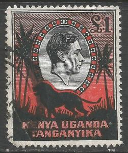 KENYA, UGANDA & TANZANIA 85 VFU LION Z2249-2