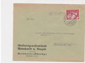 germany 1933 wagners opera stamps cover ref 20080