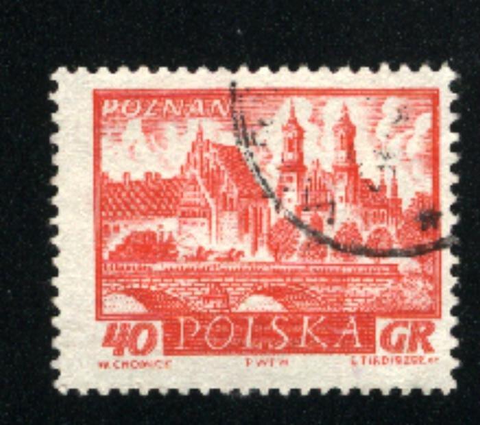 Poland 950  u VF   1960-61 PD