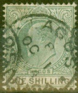 Lagos 1904 1s Green & Black SG50 Good Used
