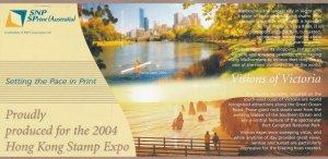 C7) SNP Australia Dummy Peel & Stick Booklet, for 2004 Hong Kong Exhibition