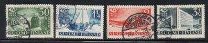 Finland Sc 215-18 1938 300th Anniversary Postal Service stamp set used