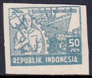 Indonesia - Scott #1L44 - MH - No gum as issued - SCV $3.50