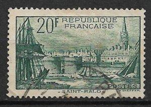 1938 France 347 Saint-Malo 20F used