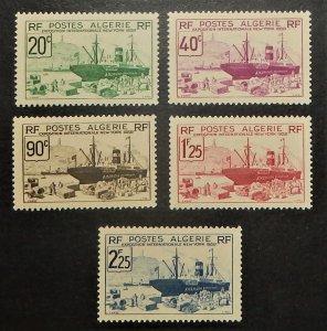 Algeria 126-30. 1939 NY World's Fair, NH