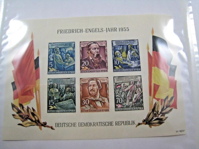 GERMANY (DDR)  -  SCOTT # 264A  -  IMPERF S/S  -  MNH