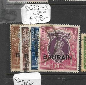 BAHRAIN  (PP0504B)  ON INDIA KGVI  1R-10R  SG 32-5   VFU