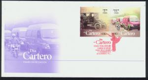MEXICO 2705a, Cacheted FDC. Letter carrier's Day.