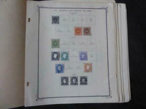 St Thomas and Prince Stamp Collection 1869-1965 on Scott Specialty Album Pages