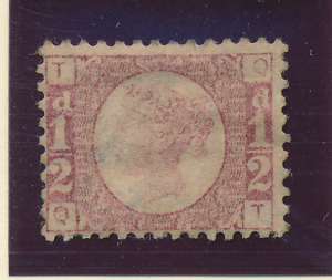 Great Britain Stamp Scott #58, Used, Light Cancel, Weak Impression - Free U.S...