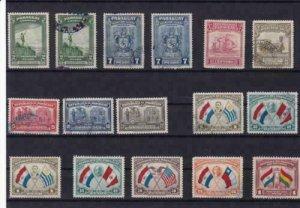 paraguay  vintage stamps ref r13932