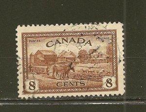 Canada 268 Farm Scene Used